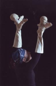 Manipulation de la marionnette à gaine