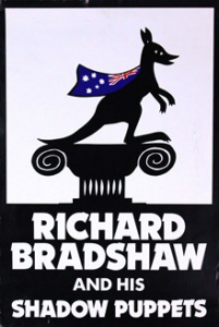 Richard Bradshaw and his Shadow Puppets