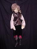 Soldat suédois, marionnette à tringle
