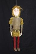 Fléance, marionnette à tringle