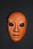Masque en cuir