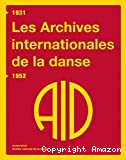 Les Archives internationales de la danse